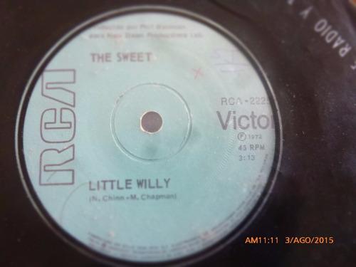 vinilo single de the sweet -- hombre de arabia ( a122