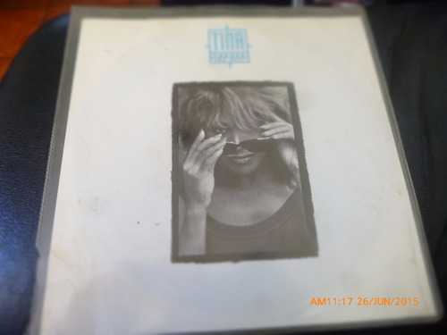 vinilo single de tina turner  --the blest  ( n130