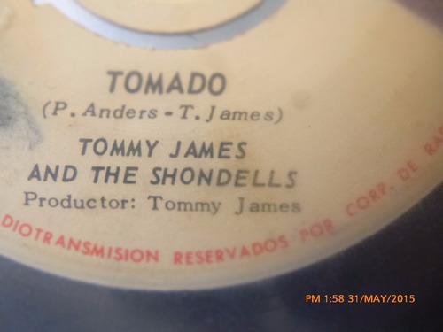 vinilo single de tommy james and the shondells    ( h118