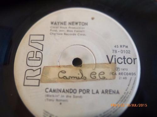 vinilo single de wayne newton - noo te precipites ( r97