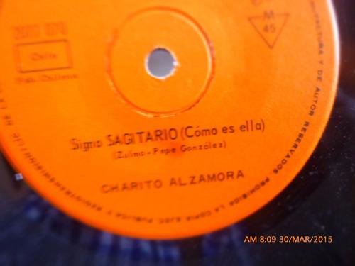 vinilo single de zulma sagitario  -jorge cavada( a36