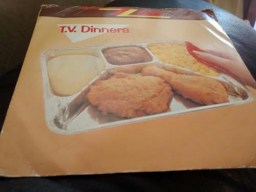 vinilo single de zz top - tv dinners ( t39