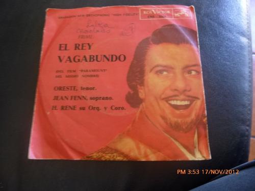 vinilo single doble el rey vagabundo ( h10