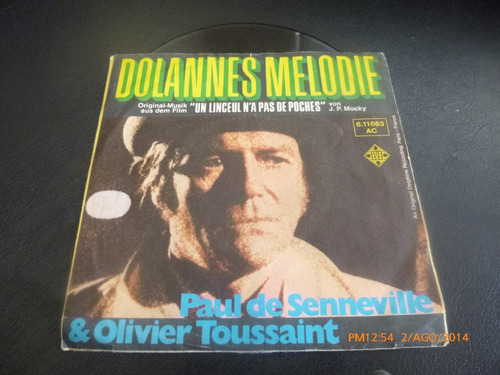 vinilo single dolannes melodie // paul de senneville ( h46