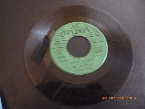 vinilo single  duo acropolis  -la danza zorba ( b111