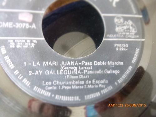 vinilo single ep de los churumbeles de españa  -el mor( n122