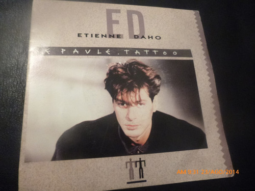 vinilo single etienne daho  --  epaule tatto ( h41