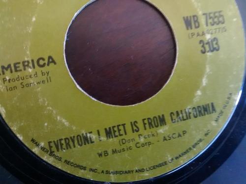 vinilo single everyone i meet is from california ( i95