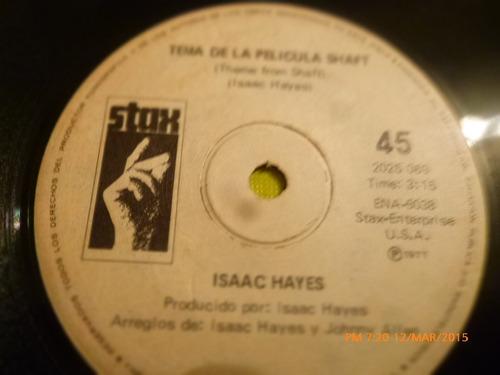 vinilo single  - isaac hayes -cafe regios ( i35