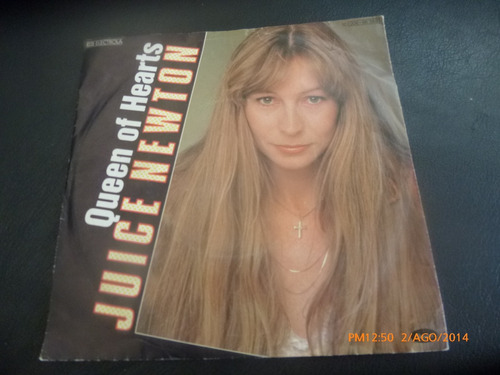 vinilo single juice newton  / queen of hearts ( h35