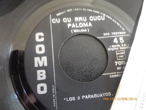 vinilo single los 3 paraguayos  cielito lindo ( h9