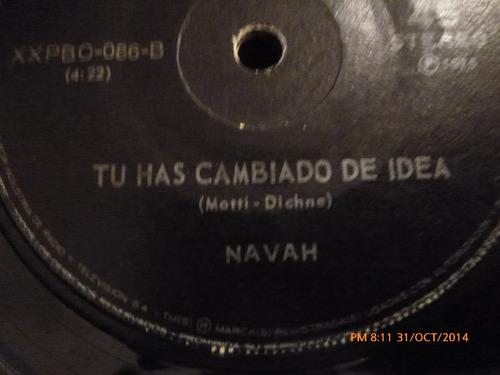 vinilo single navah  --el amor esta en todas partes ( b92