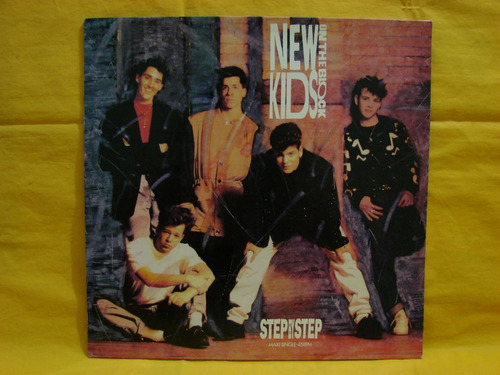 vinilo single new kids on the block step by step