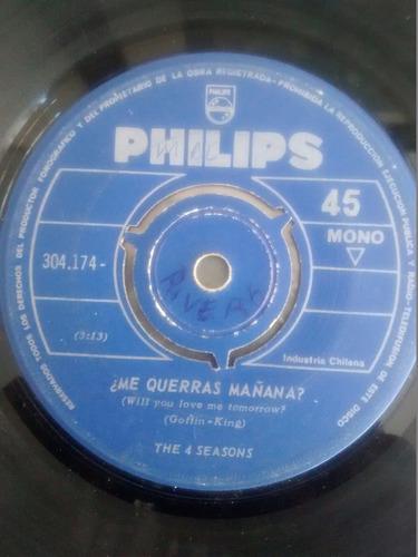 vinilo single the 4 seasons - me querras mañana ( t84