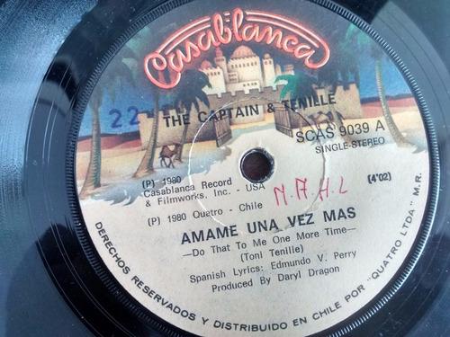 vinilo  single the captain & tenille - amame una v ( c41