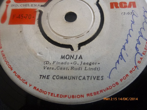 vinilo single the communicatives --monja ( s132