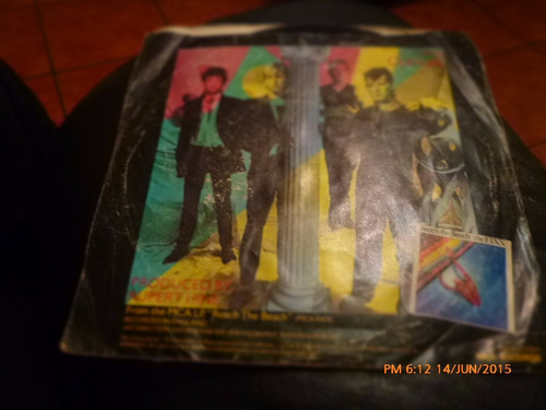 vinilo single  the fixx  -one thing leads ( q11