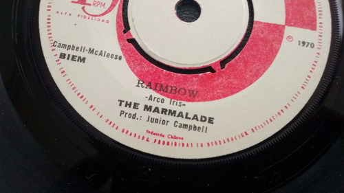 vinilo single the marmalade -- raimbow  ( u85