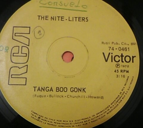 vinilo single the nite liters -k jee ( t4