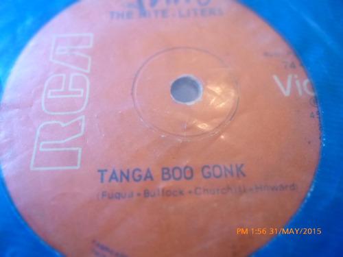 vinilo single the nite liters -- tanga boo gonk   ( h123
