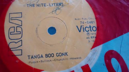 vinilo single the nite liters -- tanga boo gonk( u144
