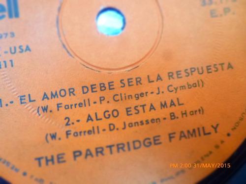 vinilo single the partridge family  - amigo amante  ( h114