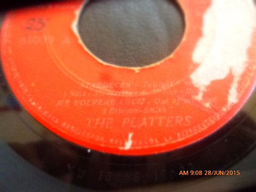 vinilo single the platters -- uno en un millon ( r95