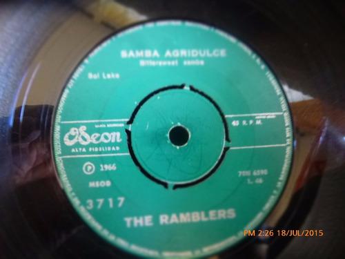 vinilo single the ramblers --samba agridulce ( r80