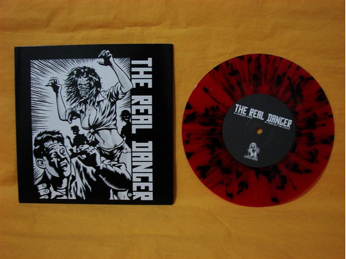 vinilo single the real danger the  someday soon green day