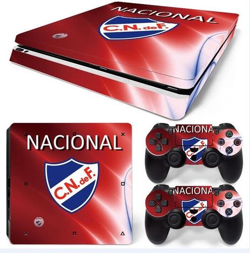vinilo skin adhesivo pegotin ps4 slim nacional escudo
