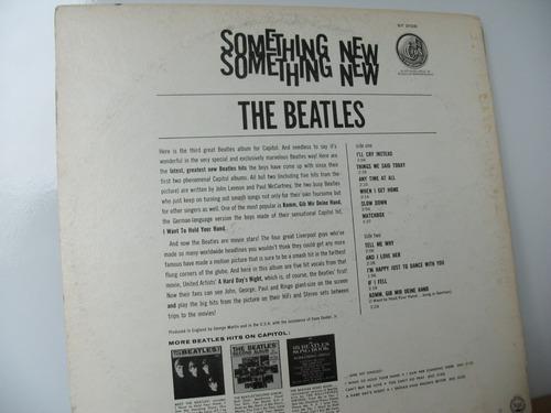 vinilo something new de the beatles, usa, igual a nuevo.