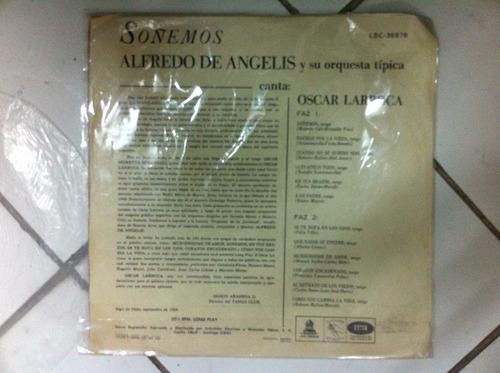 vinilo soñemosalfredo de angeles1966