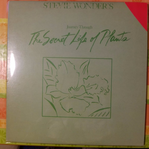 vinilo stevie wonder's   journey throug the secret  2lp