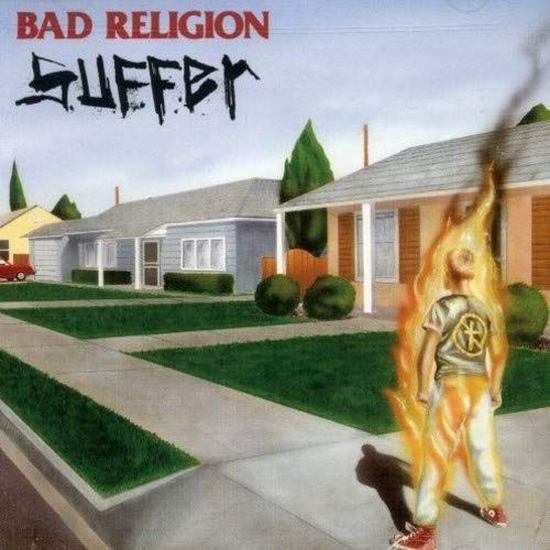 vinilo suffer  bad religion  nuevo - sellado