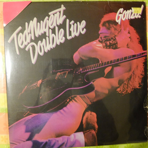 vinilo ted mugent  double live gonzo! 2lp