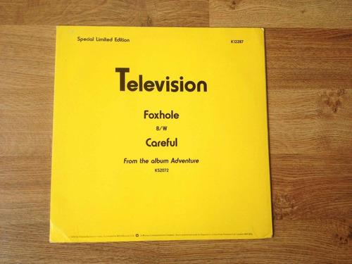vinilo - television - foxhole - ep - edicion limitada