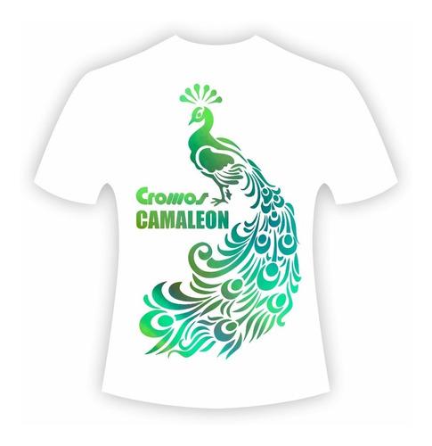 vinilo textil camaleon termotransferible camiseta