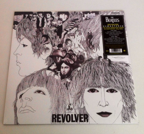 vinilo the beatles - revolver - envío gratis