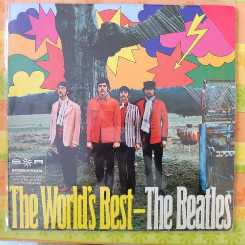 vinilo    the beatles the worlds best