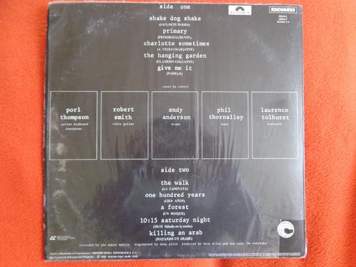 vinilo the cure live concert 1988