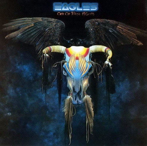 vinilo - the eagles - one of these nights