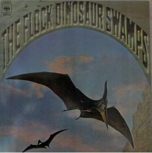 vinilo the flock - dinosaur swamps - vinilo uruguay