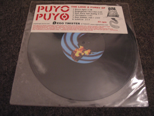 vinilo the love & furry eppuyo puyo