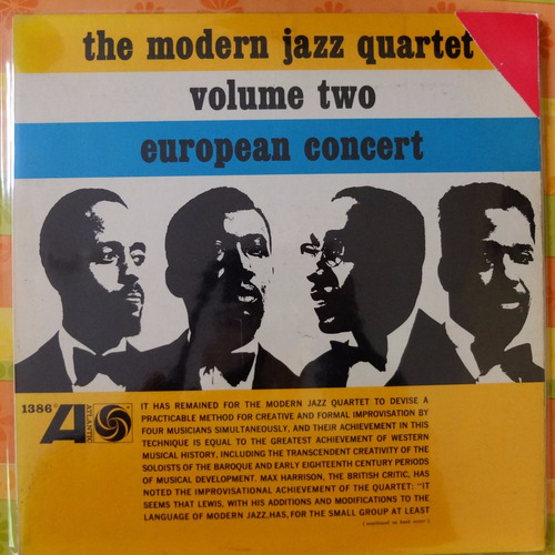 vinilo the modern jazz quartet volume two european concert