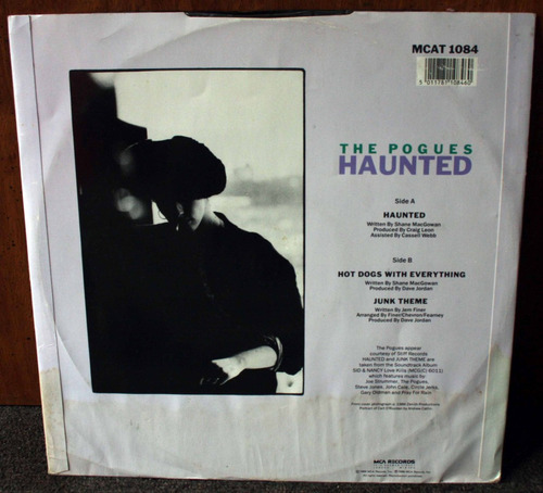 vinilo the pogues haunted sid and nancy maxi1986