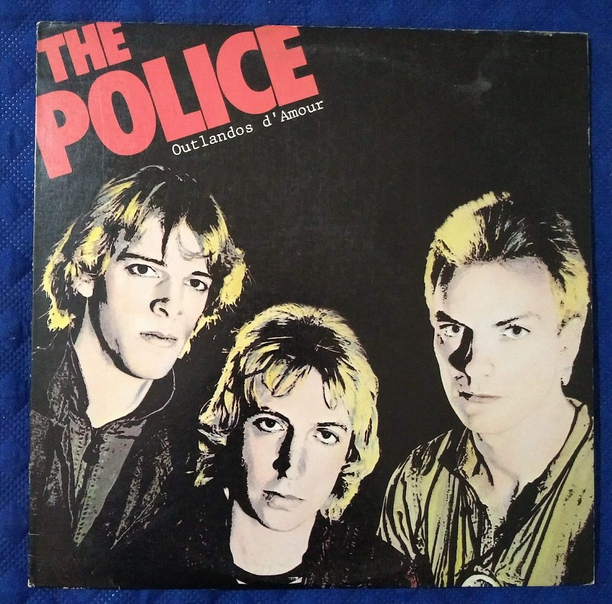 Vinilo The Police Outlandos D Amour Usa En La Plata 241920