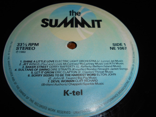 vinilo the summit varios artistas