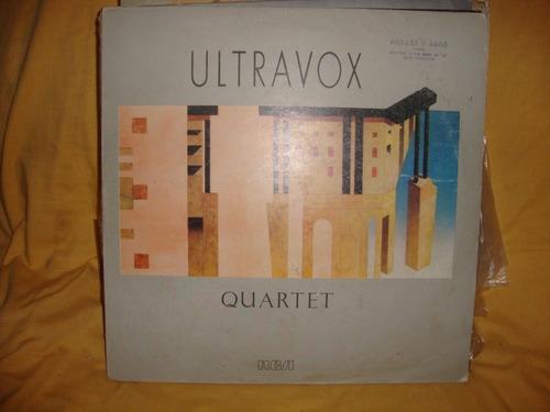 vinilo ultravox quartet sl p2