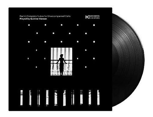 vinilo : viersen,quirine - bach cello suites (lp vinyl)