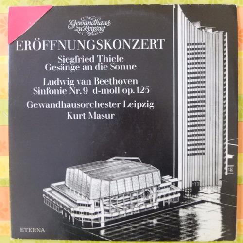 vinilo vinilo música clásica: beethoven sinfonía n°9
